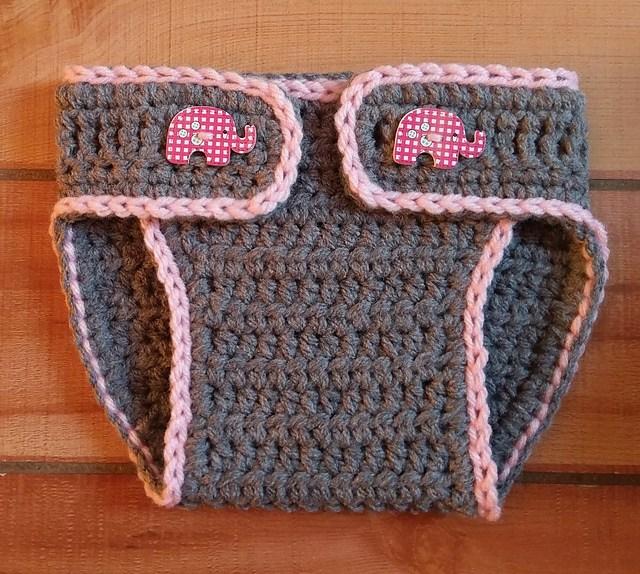 Easy] Crochet Diaper Cover - Free Pattern
