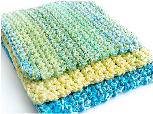 Thick Crochet Dishcloth Pattern | FaveCrafts.com