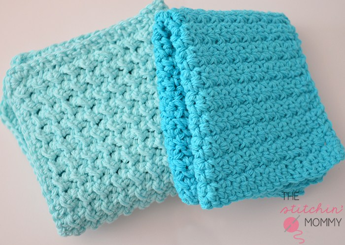 15 Free Patterns for Crochet Dishcloths/Washcloths - The Stitchin Mommy