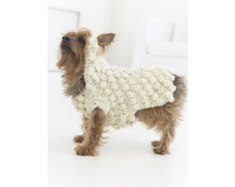 Year Of The Dog Sweater (Crochet) | Lion Brand Yarn