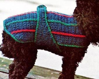 Crochet dog sweater | Etsy