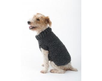 The Poet Dog Sweater (Crochet) | Lion Brand Yarn