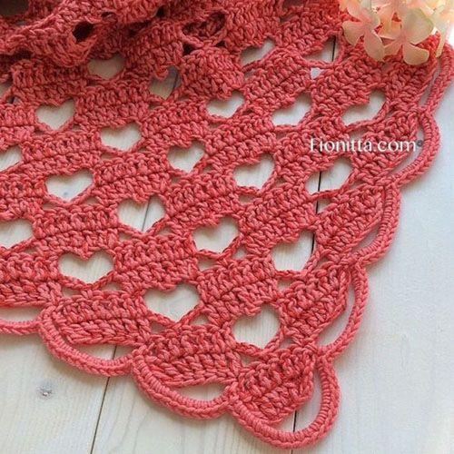 Lacy Crochet Shawl - Tutorial (Crochet For Children) | Crochet