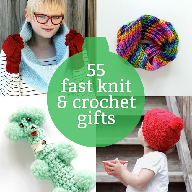 55 Last Minute Knit & Crochet Gift Ideas
