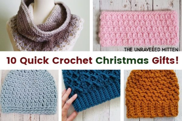 10 Quick Crochet Gifts to Make For Christmas This Year! | The