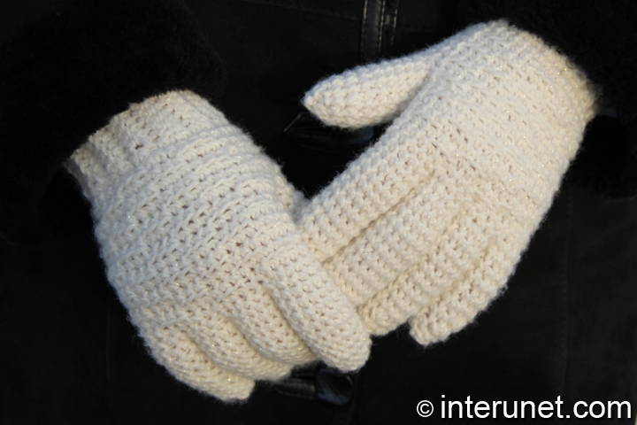 How to crochet gloves for a woman | interunet