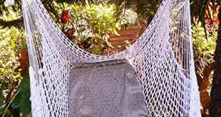 Amazon.com : Wonderful Crochet Hammock Chair Swing 100% Handmade