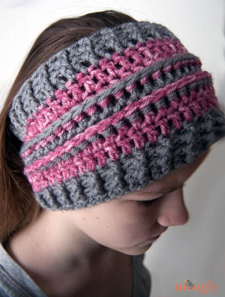 12 Easy Crochet Headband Ideas and Free Patterns | FeltMagnet
