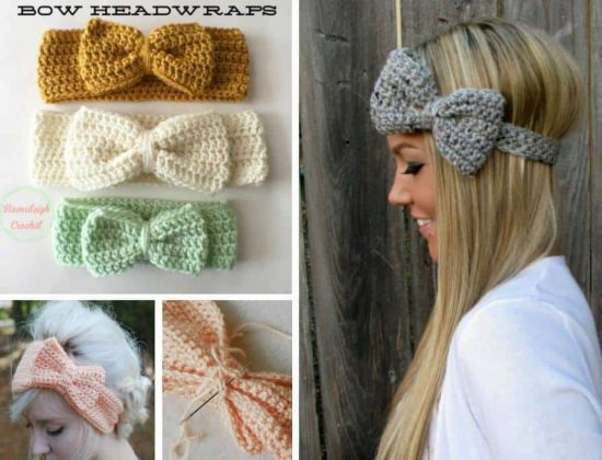 Crochet Bow Headband An Easy Free Pattern | The WHOot