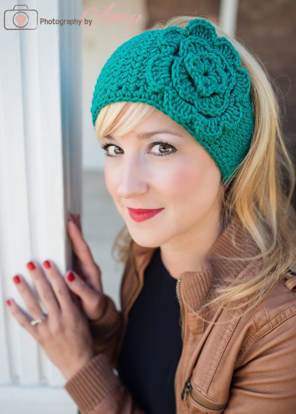 Easiest Headwrap EVER!!! | Crochet Ideas/patterns | Pinterest