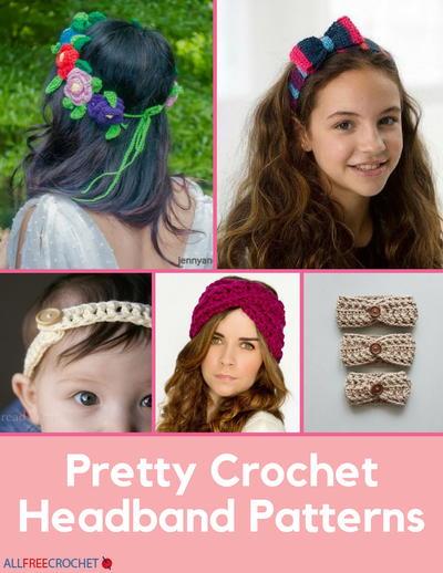 70+ Crochet Headband Patterns | AllFreeCrochet.com