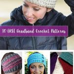 Crochet Headbands Enhance Your Little   Girl's Outfit