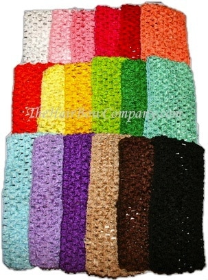 Crochet Headbands - Add An Individual Crochet 2.75