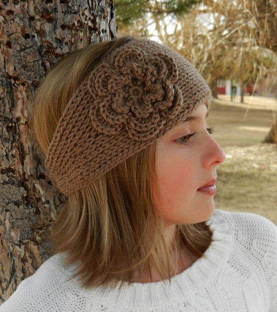 Ravelry: Tunisian Crochet Headband Earwarmer pattern by Kismet Crochet