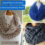 Crochet infinity scarf pattern must be   elegant and stylish