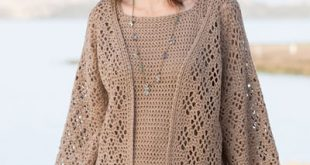 New Crochet Patterns - ANNIE'S SIGNATURE DESIGNS: Windway Cardigan
