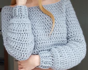 Crochet jumper | Etsy