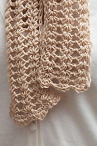 Ravelry: Tunisian Lace Ascot pattern by Ellen Gormley