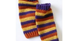 Leg Warmers Pattern (Crochet) | Lion Brand Yarn