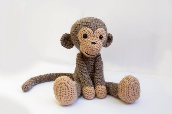PATTERN Monkey Amigurumi Monkey pattern Crochet pattern Knitted