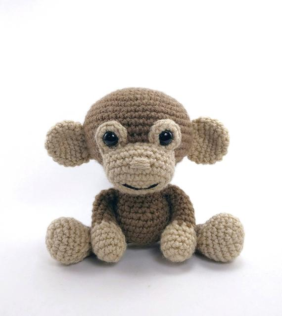 PATTERN: Martin the Monkey Crochet monkey pattern | Etsy
