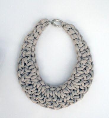 Cultivating Creativity: DIY Crochet Necklaces u2026 | Crafts & DIYs | Pinteu2026