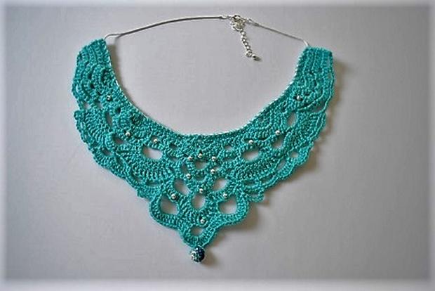 Free Patterns for Crocheted Jewelry u2013 1001 Crochet