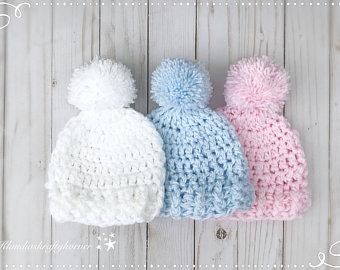 Crochet newborn hat | Etsy