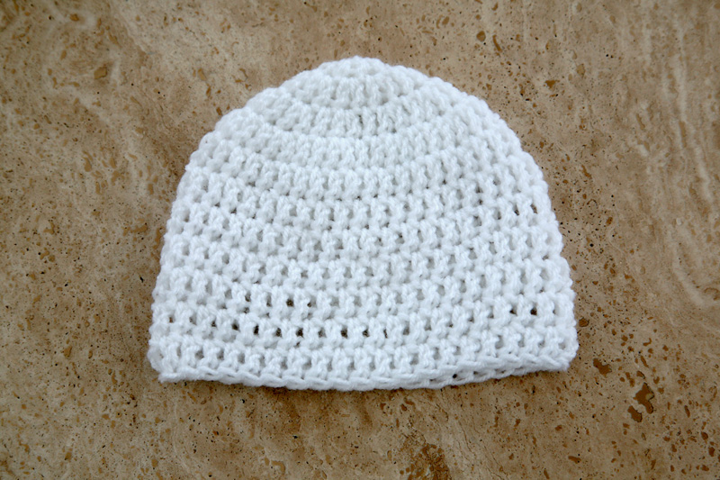 The Kat's Scratch Pad: The 20 Minute Easy Newborn Hat