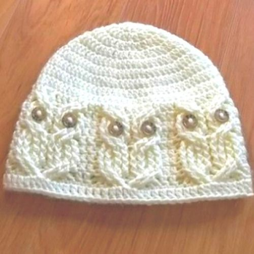 download a FREE pattern every day. ~ Owl Beanie | Crochet Stash