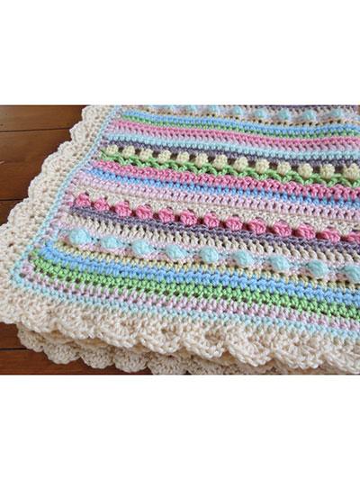 Confetti Baby Blanket Crochet Pattern