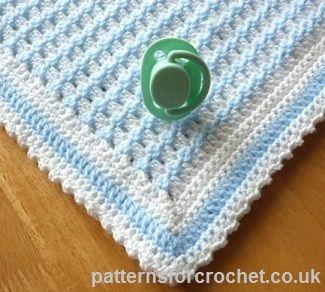 Blueberry Waffleghan | crochet | Pinterest | Crochet, Baby blanket