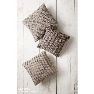 Free Easy Crochet Pillow Pattern | Yarnspirations | Bernat | Free