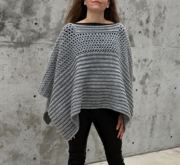 WANT BEAUTIFUL ALL-WEATHER CLOTHING? GET   A CROCHET PONCHO