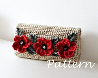 Crochet purse | Etsy