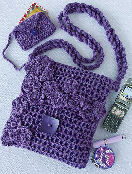 10 Beautiful Crochet Purses and Bags | Crochet | Crochet purses