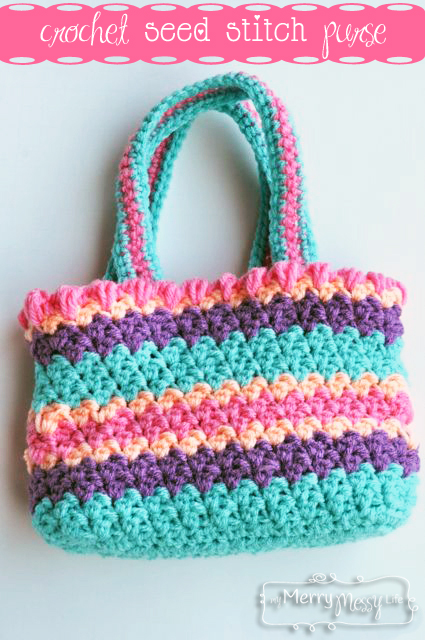 40+ free easy crochet bag & purse patterns