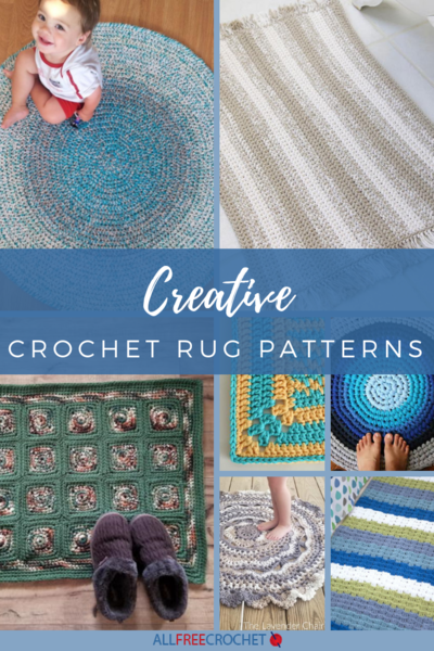 26 Creative Crochet Rug Patterns | AllFreeCrochet.com