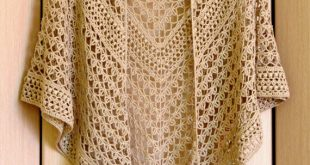 Crochet Shawl Pattern - Rings Of Lace Shawl Written Pattern