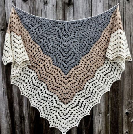 Crochet Shawl Pattern Diagrams ⋆ Crochet Kingdom