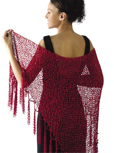 Free Crochet Shawl Patterns for Formal Dances | Free-Crochet Ideas