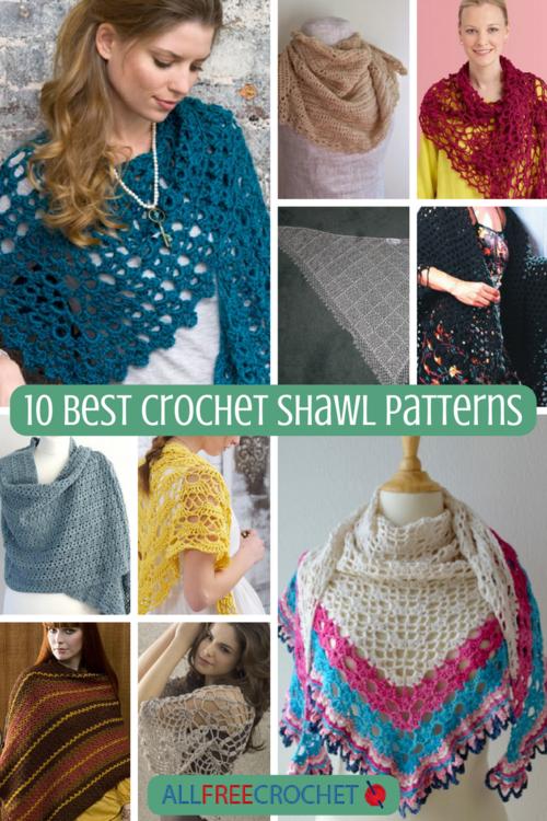 Free Crochet Shawls   AllFreeCrochet.com