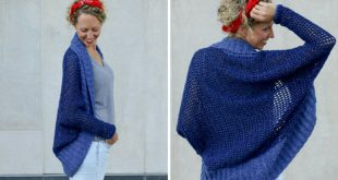 Lightweight + Easy Crochet Shrug - Free Pattern - Make & Do Crew