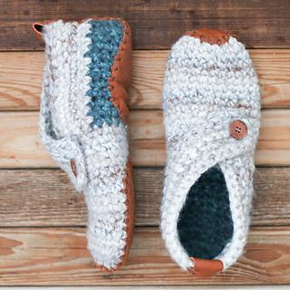 Ravelry: Sunday Slippers pattern by Jess Coppom