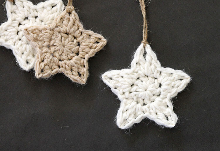Crochet Stars - Free Ornament Pattern - Persia Lou