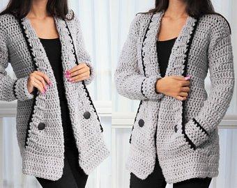 Crochet sweaters | Etsy