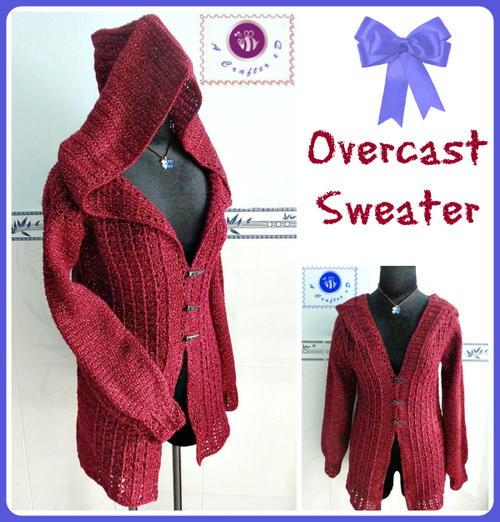 Overcast Crochet Sweater | AllFreeCrochet.com