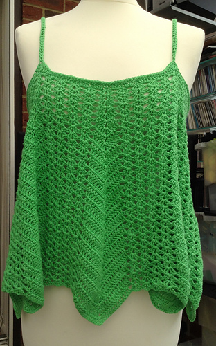 Ravelry: VENTURA Swing Tank Top pattern by Stacey Tallman