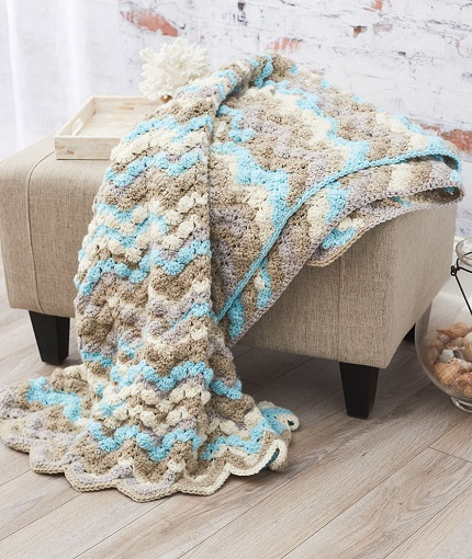 Beautiful Crochet Throws | Red Heart