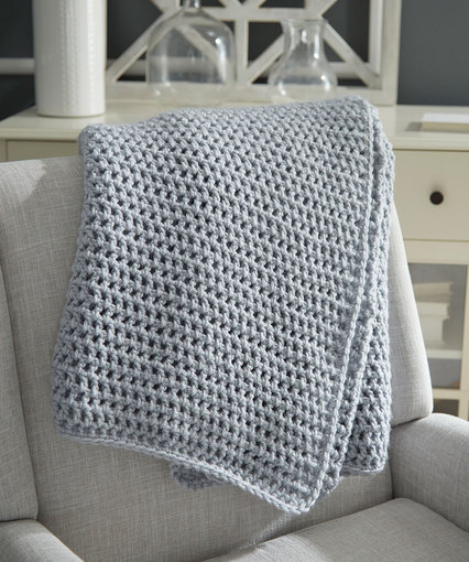 Beginner Crochet Throw | Red Heart
